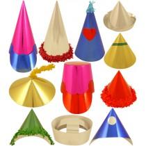 Miniature Foilboard Party Hats