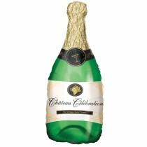 Champagne Bottle Foil Balloon