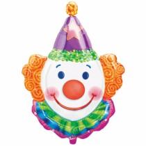Clown/Juggles Foil Balloon