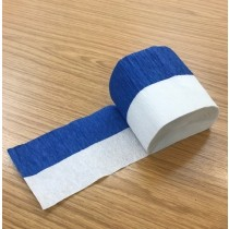 Crepe Roll - Blue/White - Flame Retarded