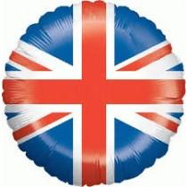 "18"" Foil Balloon - Union Jack"