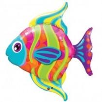 "Fashionable Fish Foil Balloon 43"""