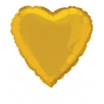 """18"""" Heart Shape Foil Balloons - Asstd Colours"""