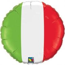 "18"" Foil Balloon - Italian Flag"