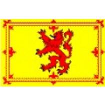 Large Polyester Flag - Lion Rampant