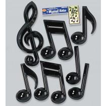 Plastic Musical Notes