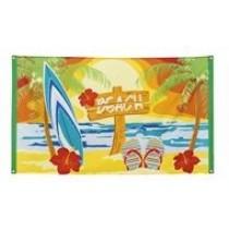 "Polyester ""Beach"" Flag"