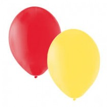 "12"" Balloons - Red/Yellow"