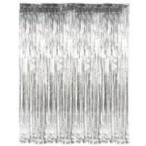 Slashed Foil Curtain - various colours
