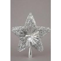 """Glitter Tree Top Star - Silver 8"""""""