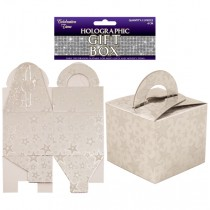 Silver Novelty Boxes - Unfilled