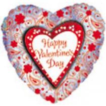 """26"""" Foil Valentine Message Balloon"""