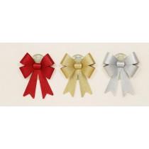 Decorative Bow - Silver
