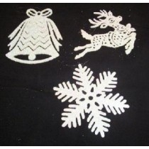 Snowflake Mobile - Silver Holographic