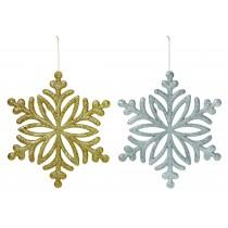28cm Glitter Snowflake