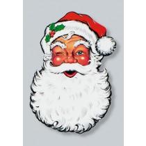 Santa Face Display Cut Out