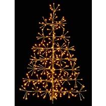 Gold Tree Starburst (60cm) - 44 Warm White LEDs