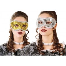 Gold & Silver Eye Masks