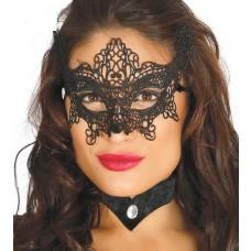 Black Lacy Eye Mask