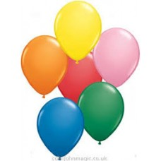 "12"" Asstd Colour Balloons"
