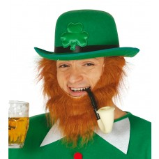 St Patricks Day Green Felt Bowler