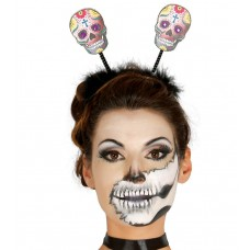 Day of the Dead Skull Tiara