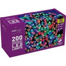 LED Twinkle Lights - Multicolour - 200 bulbs