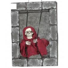 Skeleton in Window - Light & Sound