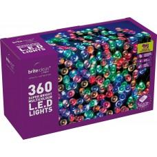 LED Twinkle Lights - Multicolour - 360 bulbs