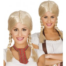 Blonde Plaited Wig
