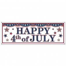 Happy 4th July Banner