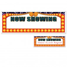 """Now Showing"" Blank Sign"