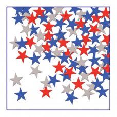 Patriotic Star Confetti