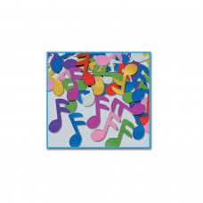 Table Confetti - Bright Music Notes