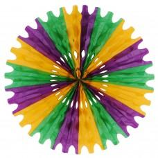 """Wall Fan - 25"""" - Green/Yellow/Purple"""