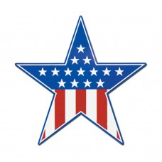 Patriotic Star Cut Out