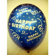 All Over Print Balloons - Birthday