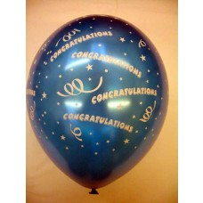 All Over Print Balloons - Congratulations