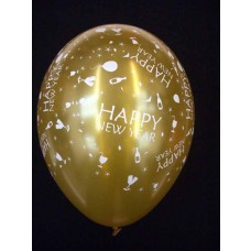 All Over Print Balloons - New Year