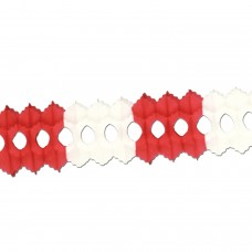 Arcade Garland - Red/White