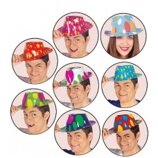 Asstd Design Gangster Hats