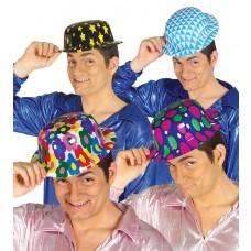 Printed Bowler Hat