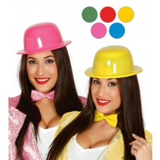 Asstd Neon Colour Bowler Hats