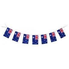 Flag Bunting - 4 metres - Australia