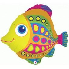 """Citrus Fish Foil Balloon 27"""""""
