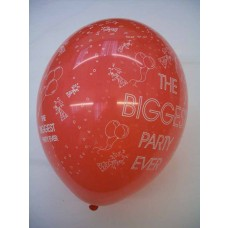 All Over Print Balloons - Biggest Party Ever
