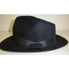 Black Flock Fedora
