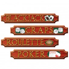 Casino Sign Cut Outs