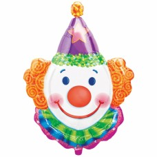 Clown/Juggles Foil Balloon