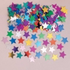 Confetti Stars -14gm available in assorted colours